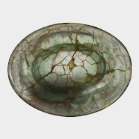 Chinese carved small flourite offering bowl