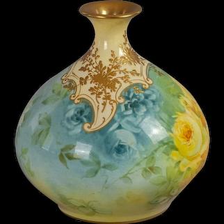 Royal Bonn porcelain bud vase