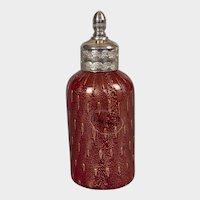 Italian Murano Glass Scent Bottle with Original Label