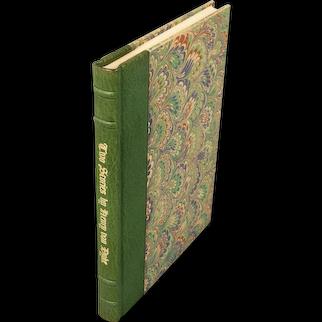 "book: ""Two Stories"" by Henry Van Dyke"