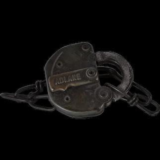 Adlake Railroad Switch Lock for Denver and Rio Grande Western Railroad