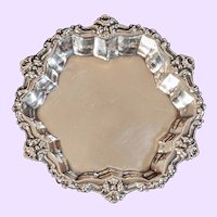 4 sterling silver nut dishes by F. Whiting