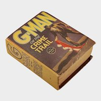 """Big Little Book: """"G-Man on the Crime Trail"""", published 1932"""