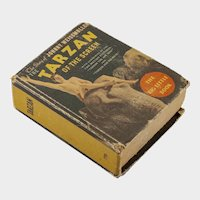 """Big Little Book: """"Tarzan of the Screen: the Story of Johnny Weismuller"""", 1934"""