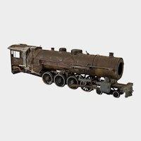 Electric toy train locomotive 1940s