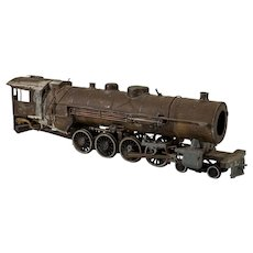 Electric toy train locomotive 1940s