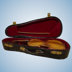 French Miniature Violin