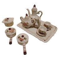French Miniature Mignonette Tea Set