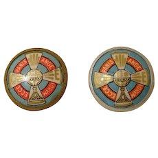 French Religious Miniature Pins