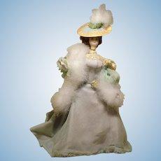 "1930 10"" French HandMade Costumed Doll #3"