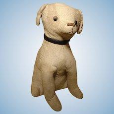"""1930 French Toy 10"""" Dog"""