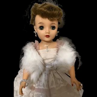 """Vintage 18"""" Miss Revlon Queen of Diamonds #0950"""