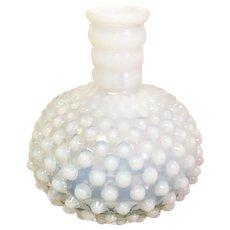 Fenton Indiana Glass Hobnail Cologne Bottle