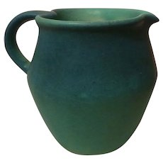 1950s Van Briggle Colorado Springs Ming Blue Creamer Pitcher