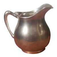Pairpoint Quadruple Plate Creamer Syrup Pitcher Early 1900s