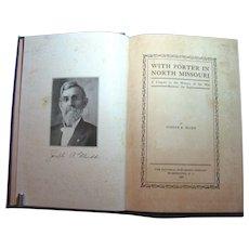 With Porter in North Missouri - Civil War Book