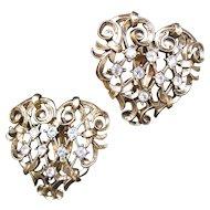 Avon Jose Barrera Antoinette Earrings NEW