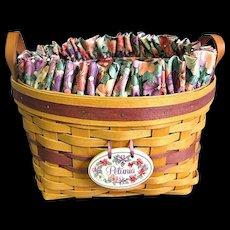 1997 Retired Longaberger May Series Petunia Basket Set