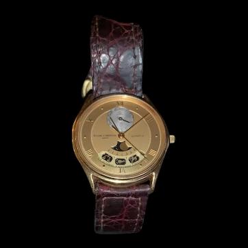 Baume & Mercier 18kt gold Astrological wrist watch