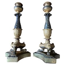 French Empire candleholders