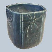 1929 Rookwood Pottery Blue Matt Vase #6107