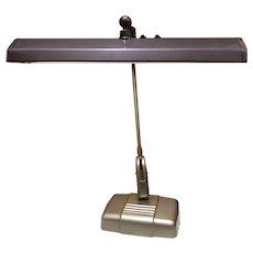 Vintage Dazor Articulating Drafting Desk Workshop Lamp Mid Century Modern
