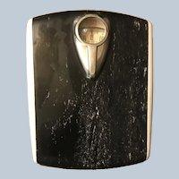 Vintage 1950s Borg Art Deco Style Bathroom Scale