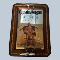 Vintage Captain Morgan Spiced Rum Mirror