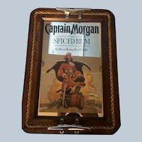 Vintage Captain Morgan Spiced Rum Mirror
