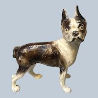 Excellent Cast Iron Boston Terrier