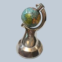 1933 Chicago World's Fair Globe Paperweight
