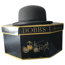 Awesome Vintage Dobbs 5th Avenue Hat 7 1/8