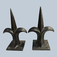Cast Iron Fleur De Lis Fence Post Toppers