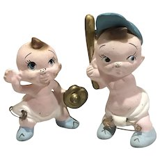 1950s Freeman McFarlin Ceramic Baseball Babies
