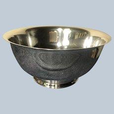 "10"" Gorham Paul Revere Reproduction Sterling Silver Bowl 41661"