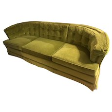 1970 Curved Couch by Heritage Furniture