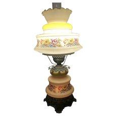 Beautiful Electrified Hurricane Lamp
