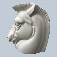 Stylish 1930s Art Deco Kent Art Ware Japan Trojan Horse Head