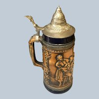 Large Gerz Beer Stein West Germany DBGM