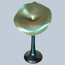1980 Orient and Flume Jack in a Pulpit Art Glass Vase N10