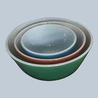 Vintage Pyrex Bowls Ovenware