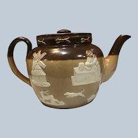 Royal Doulton Lambeth Stoneware Teapot