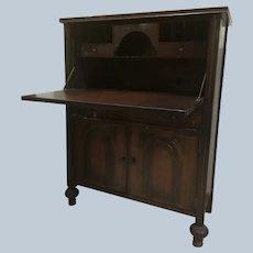 Beautiful Antique Waltham Secretary Desk
