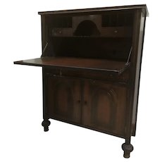 Beautiful Antique Waltham Secretary Desk