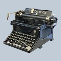 1934 Woodstock Typewriter