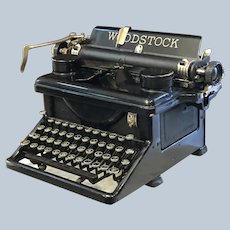 1934 Woodstock Typewriter