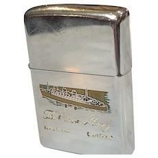 1971 Zippo Lighter Queen Mary Long Beach, CA
