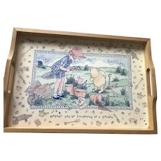 Classic Pooh Serving Tray