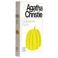 Agatha Christie Halloween Party First Edition 1969