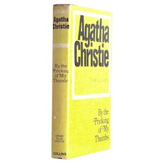 Agatha Christie By The Pricking of My Thumbs First Edition 1968
